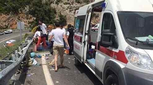 Масштабное ДТП с туристами в Турции: десятки пострадавших