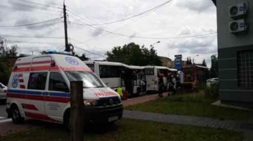 Жуткое ДТП в Польше: столкнулись два пассажирских автобуса, есть пострадавшие