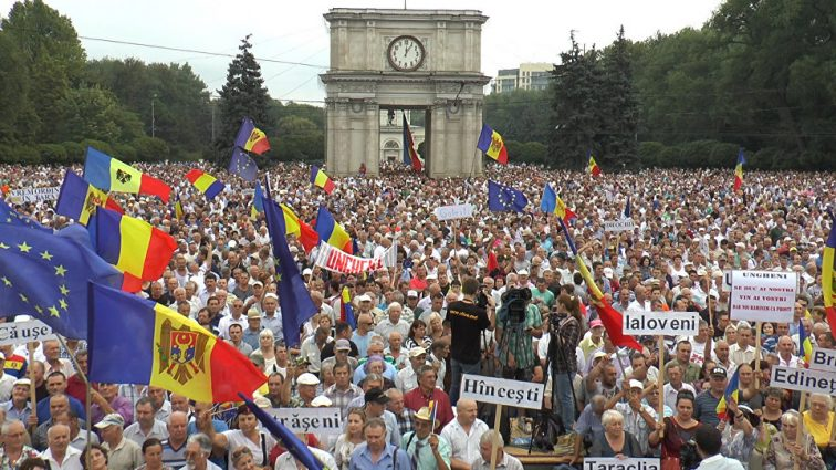 Громкие протесты в Кишиневе: узнайте подробности