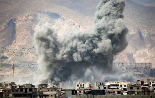 Новые авиаудары по сирийским городам, много погибших