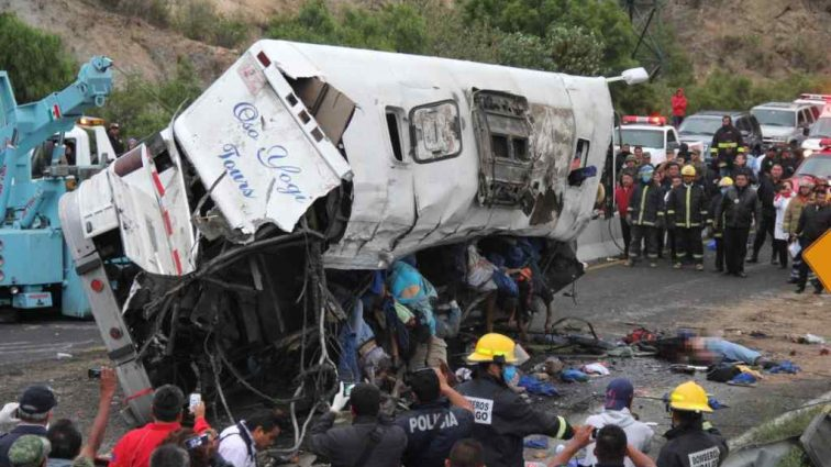 Срочная новость! Жуткое ДТП в Мексике унесло жизни многих людей