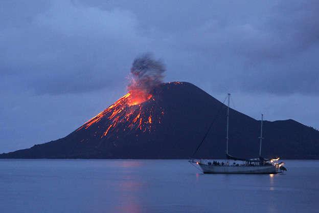 Мощное извержение вулкана на Гавайях: узнайте последствия