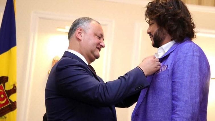 Новое достижение Киркорова: народный артист Молдовы