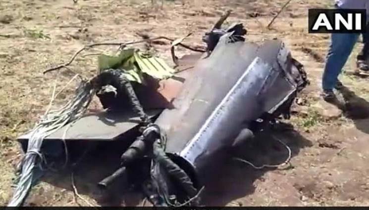 Истребитель потерпел крушение, есть пострадавшие