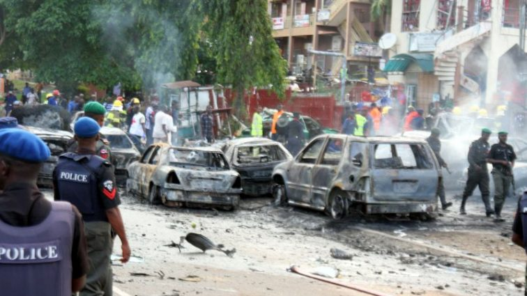 Серия терактов в Нигерии, много погибших