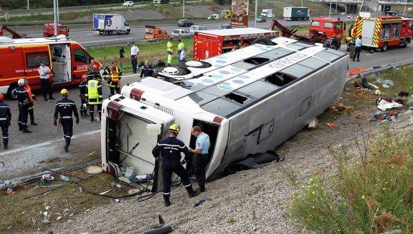 Крупная авария в Австрии: 34 человека ранены