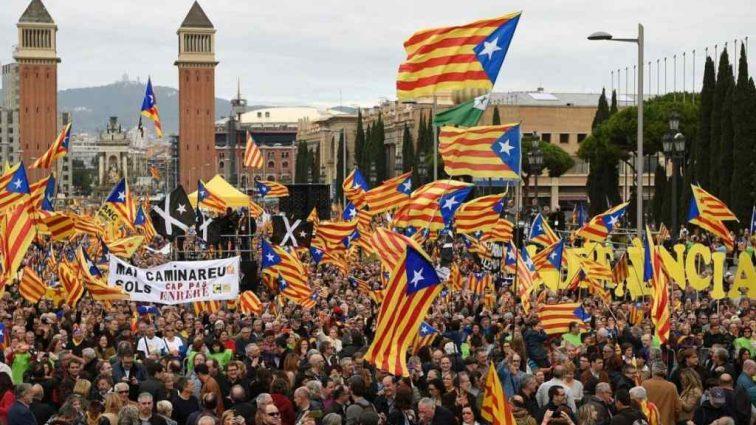 Каталонцы не желают видеть испанских королей на своей территории