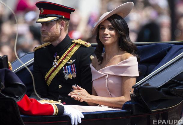 Стало известно, какой маршрут первого турне принца Гарри и Меган Маркл