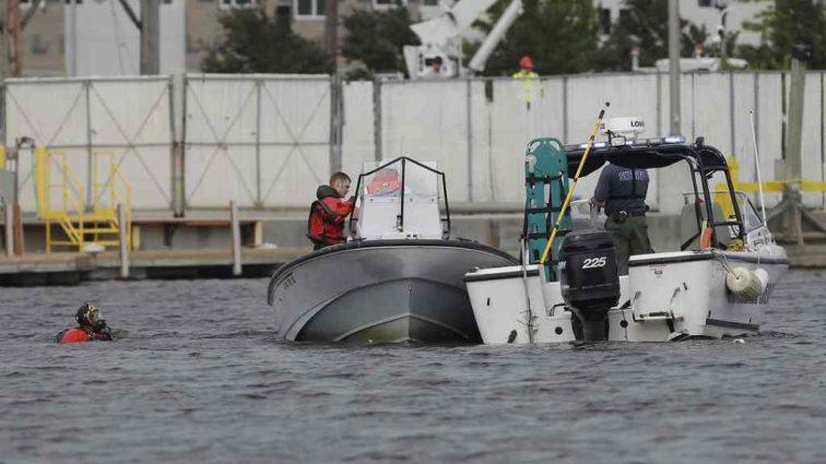 «Вертолёт упал в реку»: есть пострадавшие