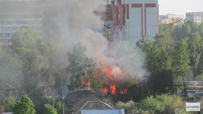 Сгорел жилой дом в Орле: среди жертв маленький ребенок