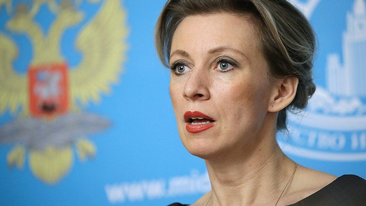 Мария Захарова опозорилась на публике