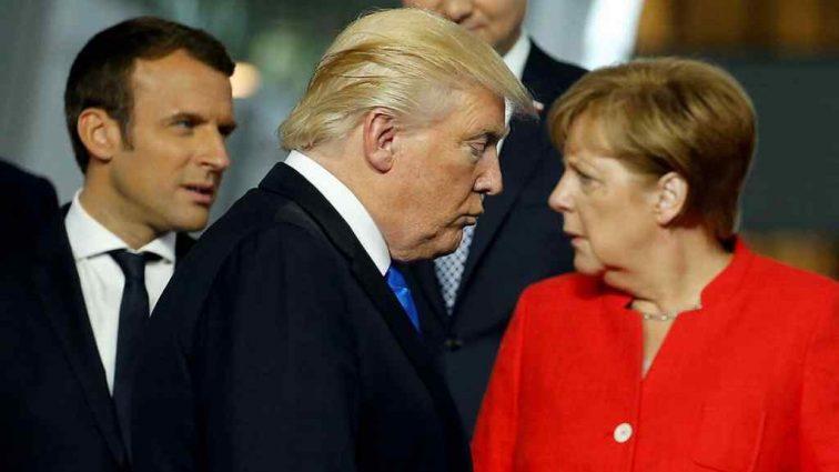 Дональд Трамп унизил Ангелу Меркель перед целым миром