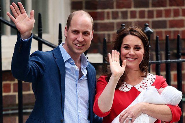 Кейт Миддлтон и принц Уильям рассказали о крещении маленького сына