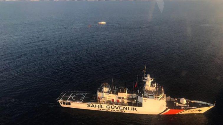 У берегов Турции затонуло судно с мигрантами