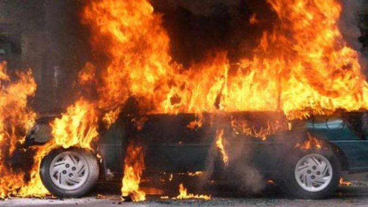 Срочная новость! Автомобиль взорвался, погибло много людей