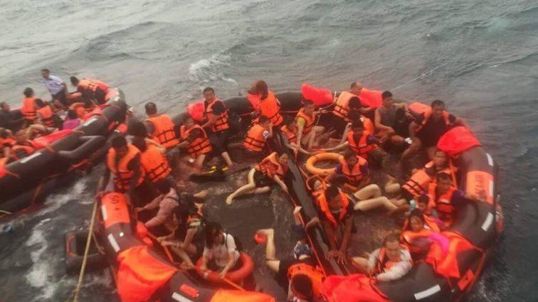 Срочная новость! Перевернулись две лодки с туристами, люди пропали без вести