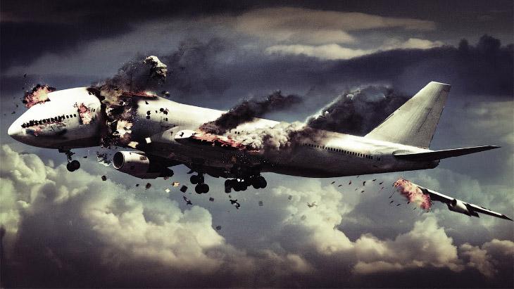 Были слышны стоны раненых: пассажиру упавшего самолета удалось снять видео крушения