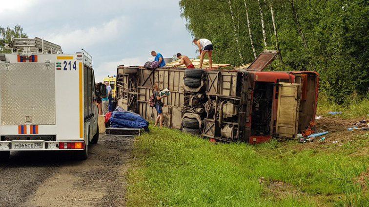 Количество пострадавших вДТПв Домодедово савтобусом выросло