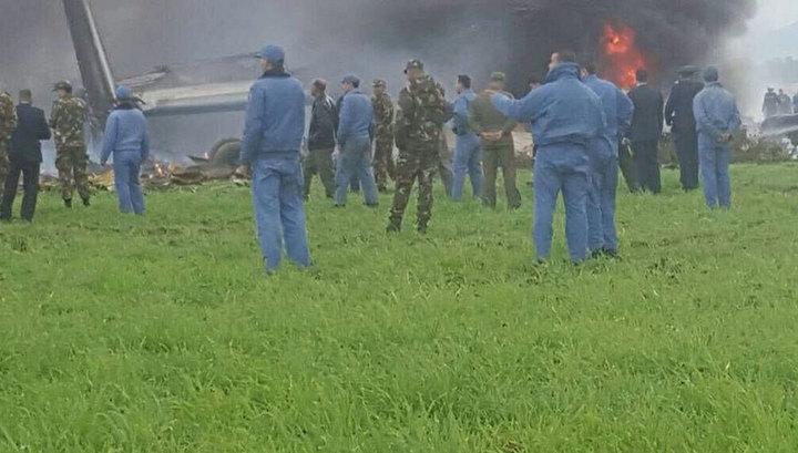В Мексике упал самолет. Причиной стала техническая неисправность