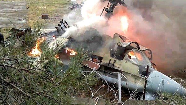 Развалился на две части:  Упало воздушное судно, есть жертвы