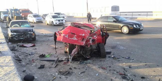 В Подмосковье столкнулось много автомобилей: есть пострадавшие
