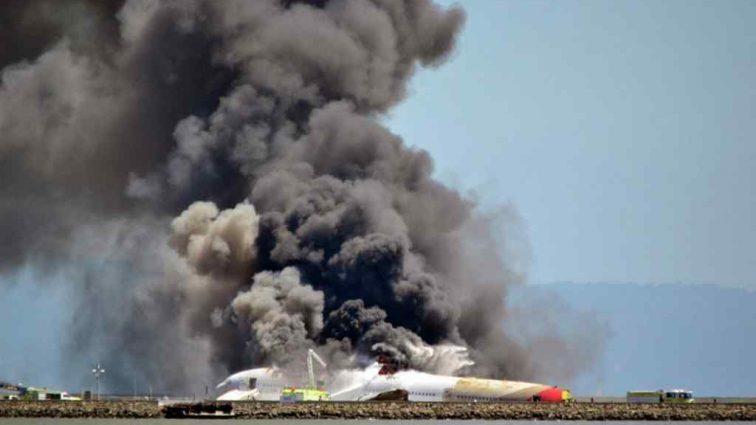 Пилот успел катапультироваться: Крушение самолета в Румынии