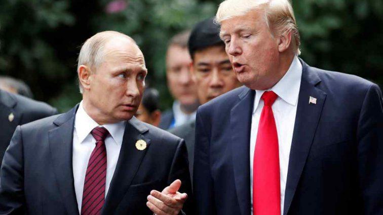 «Он — соперник»: Трамп  рассказал о своем отношении к Путину