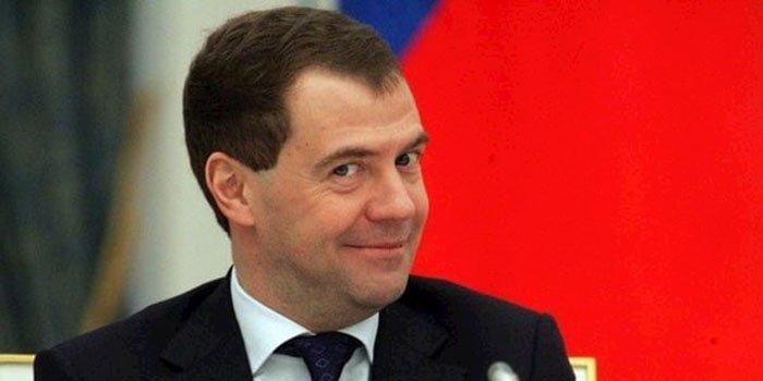 «Украина» и носороги: кабинет Медведева вызвал переполох в Сети (фото)