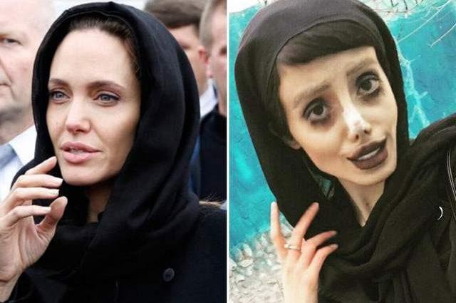 «Такое не каждый день увидишь»: Копия Джоли из Ирана показала фото без грима