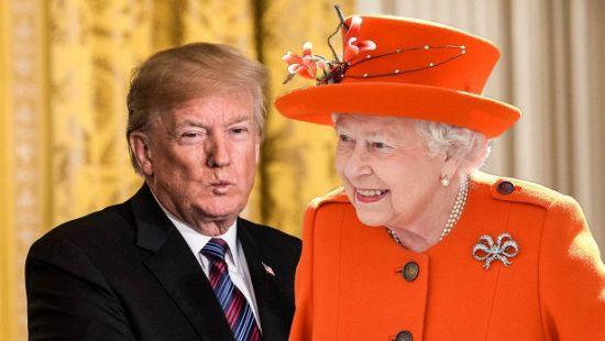Названа дата встречи королевы и президента США. Люди возмущены
