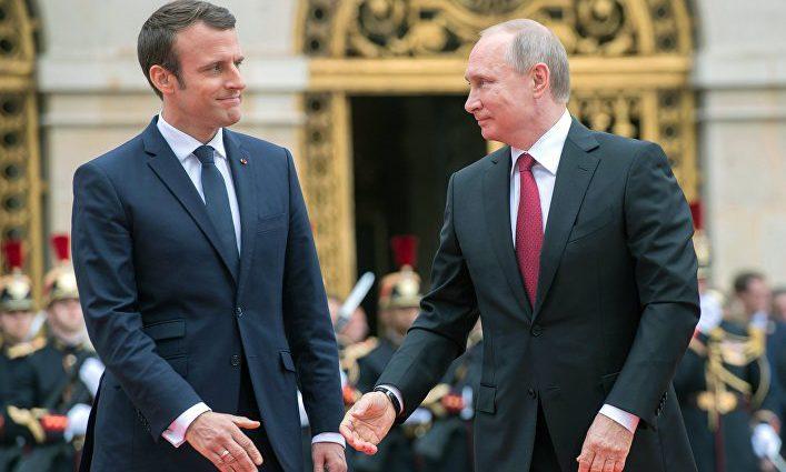 Путин провел телефонный разговор с Макроном. О чем говорили?