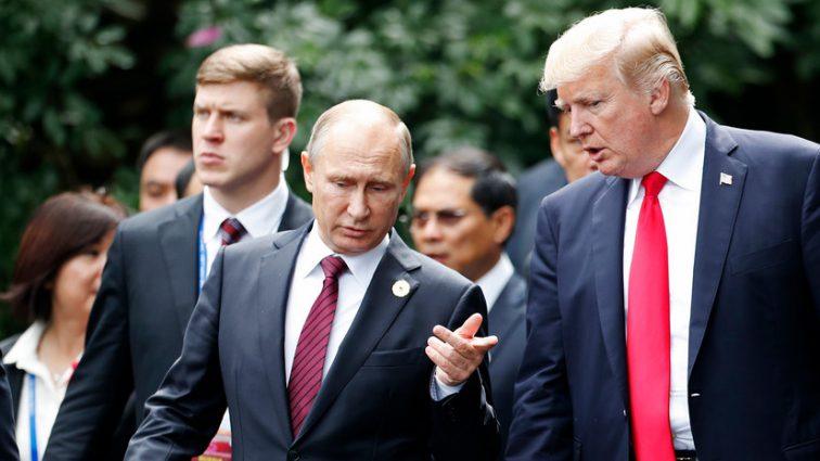 Владимир Путин пригласил Дональда Трампа на переговоры в Москву
