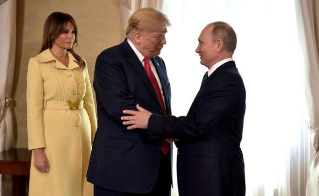 «Эту женщину просто запугали»: Встреча с Владимиром Путиным обнажила семейные неурядицы четы Трампов