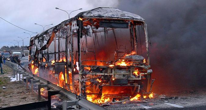 Страшная авария! В Румынии загорелся автобус: есть пострадавшие
