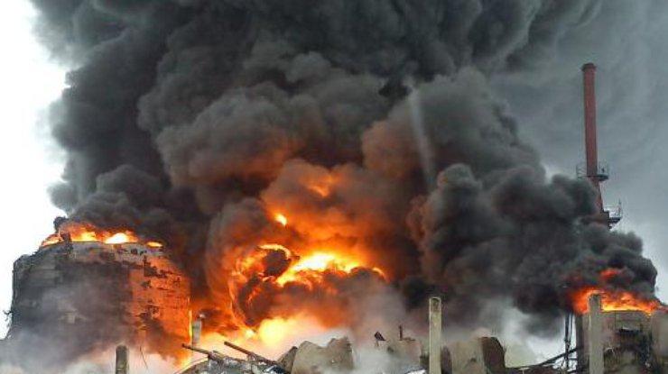 На химическом заводе в Китае произошел мощный взрыв. Сообщают о десятках жертв