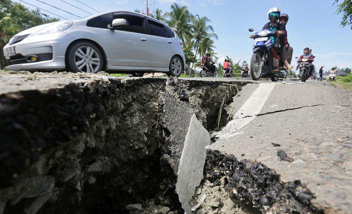 В Индонезии произошло мощное землетрясение. Есть жертвы