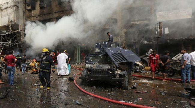 Ранено и убито более 30 человек: в центре Ирака произошел массовый взрыв