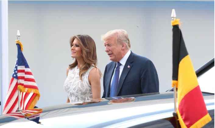 «Целовалась с Трюдо»: Мелания Трамп удивила всех на саммите НАТО в Брюсселе
