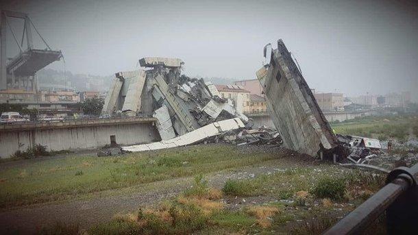 Спасатели завершили поиск погибших под обвалившимся мостом в Генуе