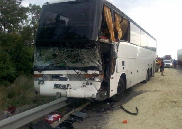 ДТП в Пермском крае: опрокинулся рейсовый автобус, есть пострадавшие