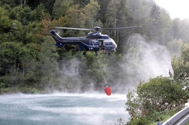 Чрезвычайное положение: в лесах Баварии второй день буйствуют пожары
