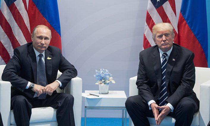 Дональд Трамп назвал встречу с Путиным «отличной»