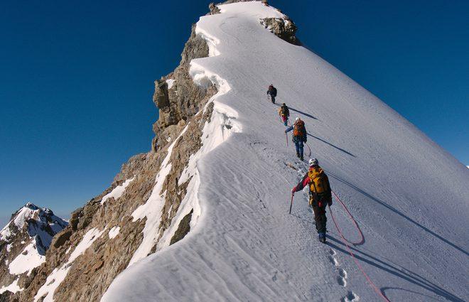 Трагедия в горах: на Монблане погибло трое альпинистов