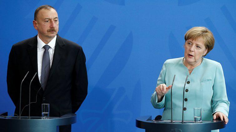 Алиев на встрече с Меркель сделал неожиданное заявление о «новой эре» в отношениях с ЕС