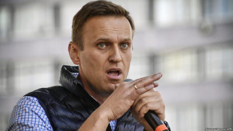 Оппозиционера Алексея Навального арестовали на 30 суток