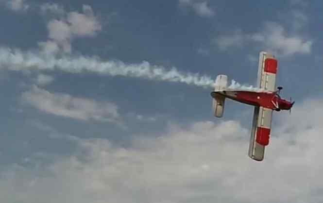 В Чехии во время авиашоу погиб пилот самолета