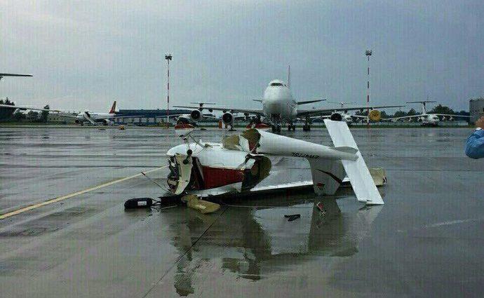 Муж врезался на самолете в дом своей жены, которой хотел отомстить