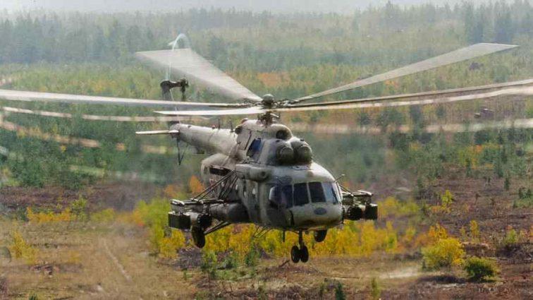 В небе над Японией пропал вертолет с 9 пассажирами на борту