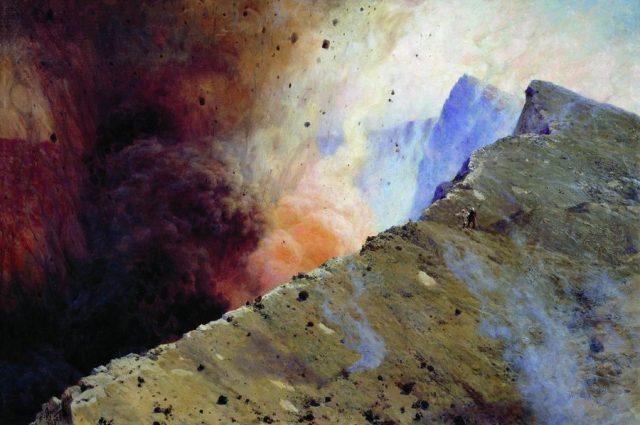 На острове Манам в Новой Гвинее произошло извержение одного из самых активных вулканов