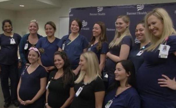 В США из одной больницы одновременно забеременели 16 медсестер
